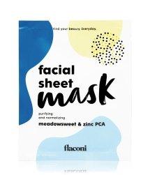 flaconi Purifying & Normalizing Facial Sheet Mask tuchmaske