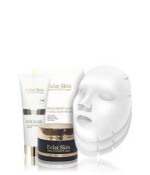 Eclat Skin London Hyaluronic Acid + Collagen & Gold 24K Gesichtspflegeset