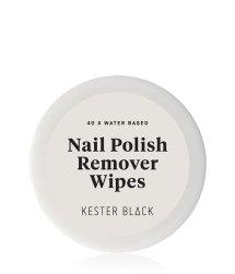 KESTER BLACK Nail Polish Remover Wipes Nagellackentferner
