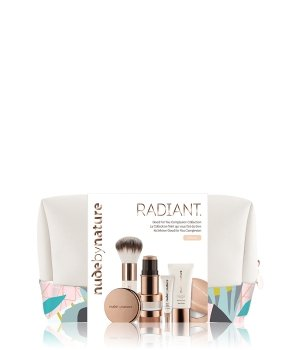Nude by Nature Radiant Good For You Complexion Collection  W2 - Ivory Gesicht Make-up Set für Damen