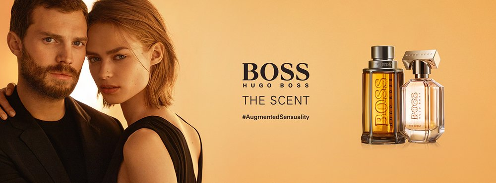 BOSS THE SCENT Private Accord Banner