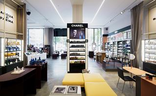 Flaconi Concept Store von innen