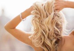 voluminöse Haare