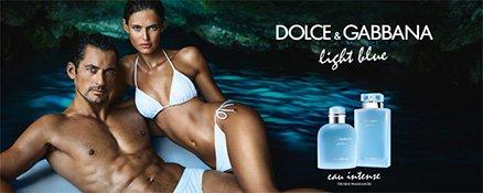 Dolce & Gabbana Light Blue Intense Models