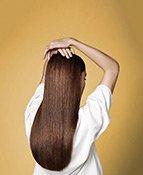 Glatte Haare mit ghd