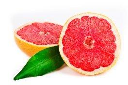 Aufgeschnittene Grapefruits