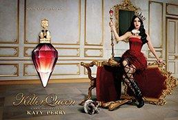 Werbefoto zum Katy Perry Killer Queen Parfum