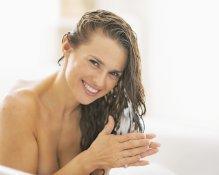 Schönes Haar dank Shampoo ohne Silikone