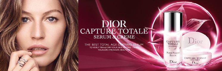 Frau und Dior Capture Totale Produkte