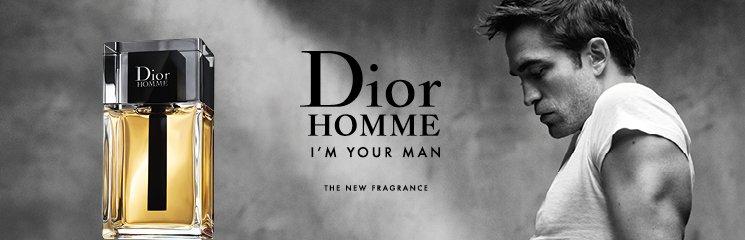 Mann und Dior Homme Flakon
