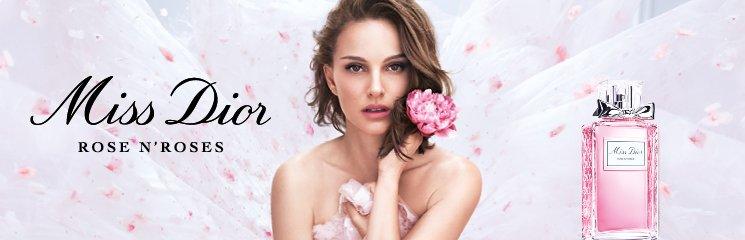 Frau und Miss Dior Parfum Flakon