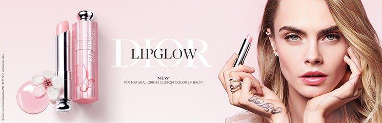 Frau und Dior Lipglow Lippenbalsam