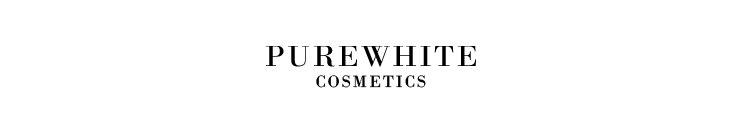 Pure White Cosmetics Markenbanner