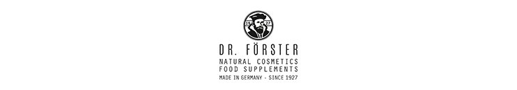 Dr. Förster Markenbanner