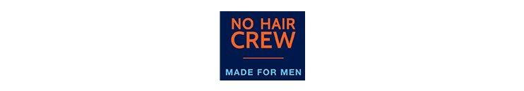 NO HAIR CREW Markenbanner