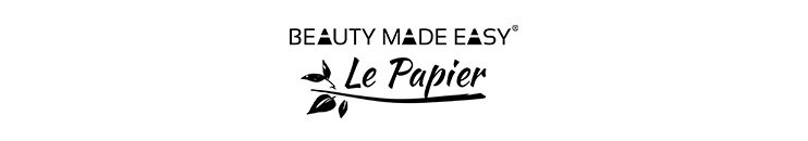 Beauty Made Easy Le Papier Markenbanner