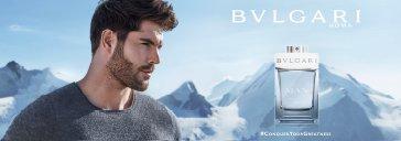 Mann und Parfum Flakon Bvlgari Glacial Essence