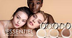 Frauen und Make-up Produkte
