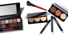 Make-up Paletten und Pinsel von smashbox
