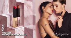 Lippen Make-up Produkte von Yves Saint Laurent und Frauen